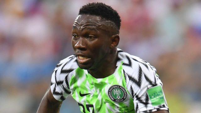Omeruo avec le Nigeria