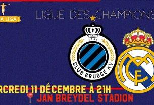 FC Bruges - Real Madrid
