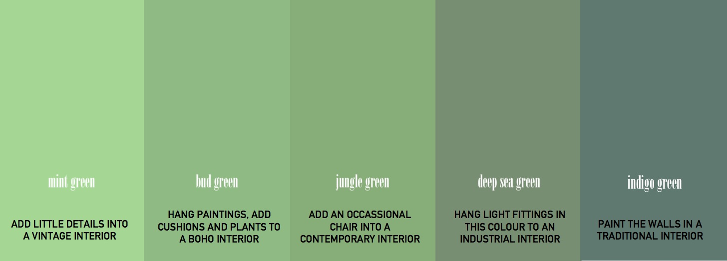 A Guide To Help You Decorate Your Home With Green Ery