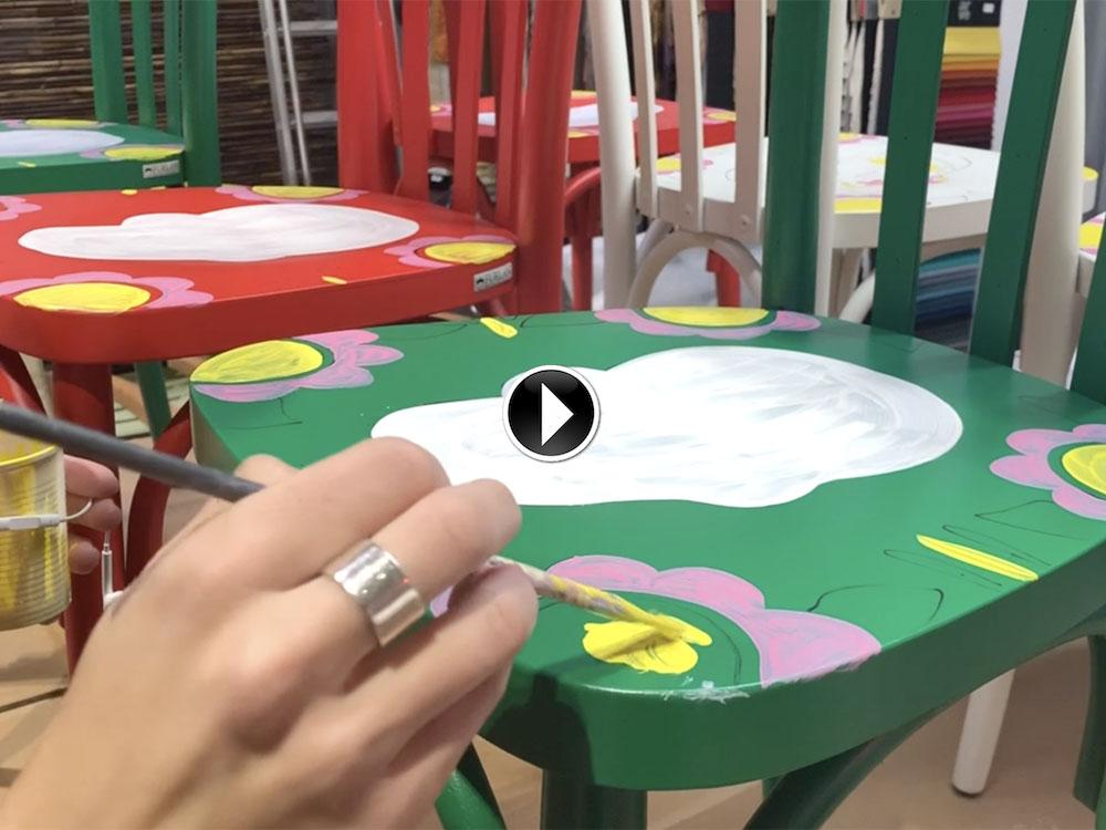 Visualizza altre idee su sedie dipinte a mano, sedie dipinte, sedie. Sedie Personalizzate Dipinte A Mano