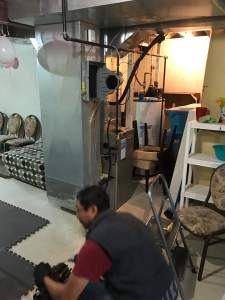 Humidifier Installation