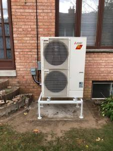 Zuba Heat Pump Installation