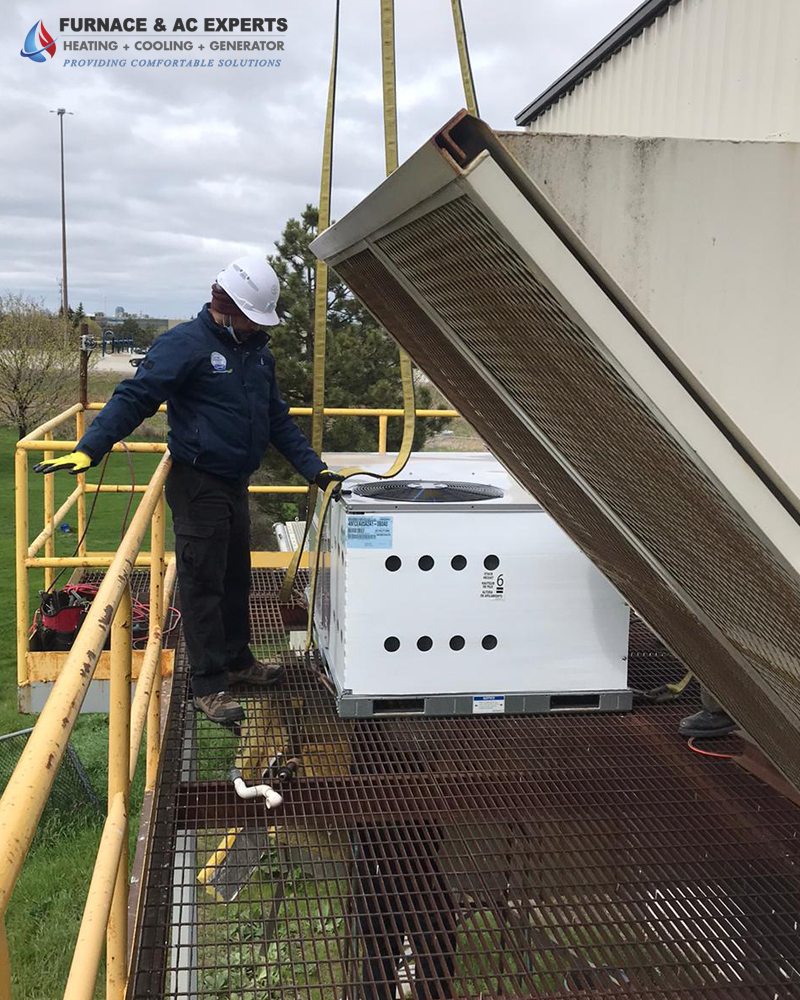 Commercial Rooftop Installation