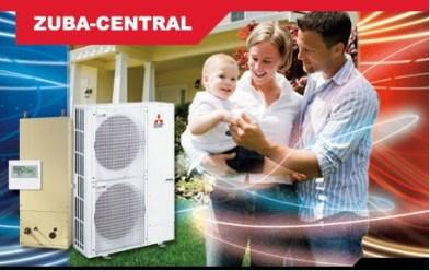 Mitsubishi Zuba Central Heat Pump