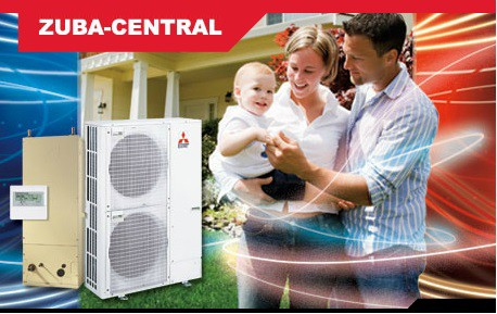 Mitsubishi Zuba Central Heat Pump