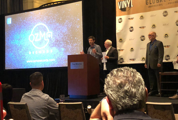 "Voyager record wins ""Alex Award"" during the Making Vinyl conference in Detroit"
