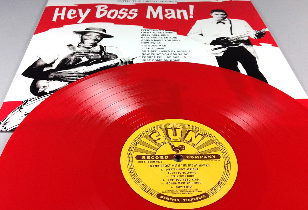 Hey Boss Man! – 12″
