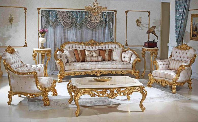 Sofa Mewah Klasik Kral