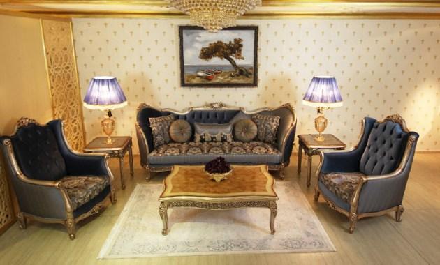 Sofa Mewah Ruang Tamu Klasik Bianca