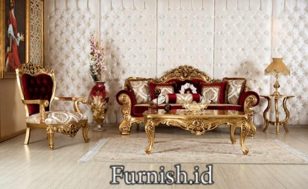 Kursi Tamu Sofa Mewah Roma Klasik