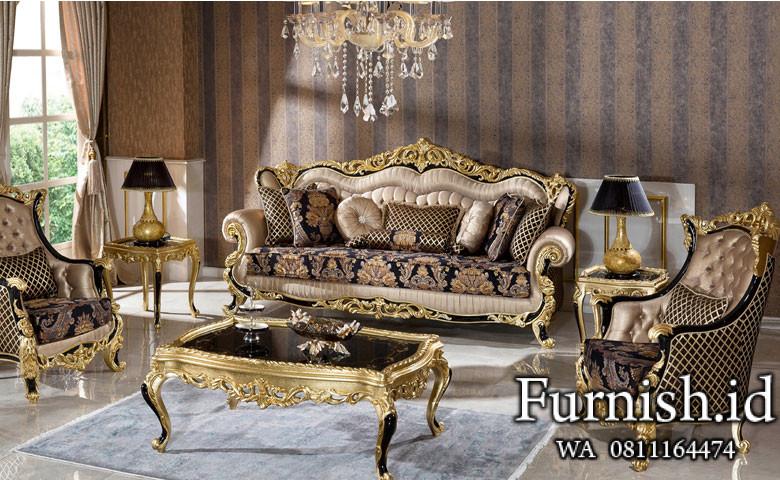 Set Sofa Ruang Tamu Mewah Fenomen