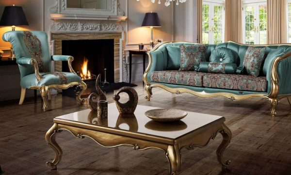 Kursi Mewah Ruang Tamu Klasik Paris