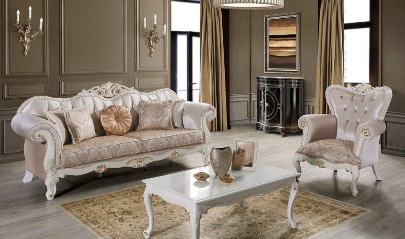 Sofa Mewah Terbaru Klasik Eldora