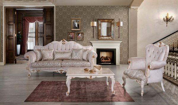 Kursi Sofa Klasik Palmiye