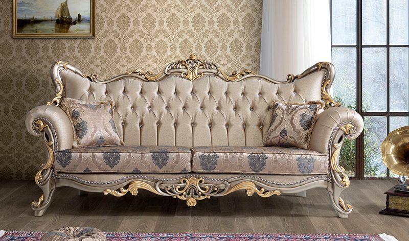 Sofa Kayu Ukir Klasik Penora