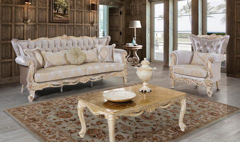 Kursi Sofa Mewah Minimalis Klasik Sah