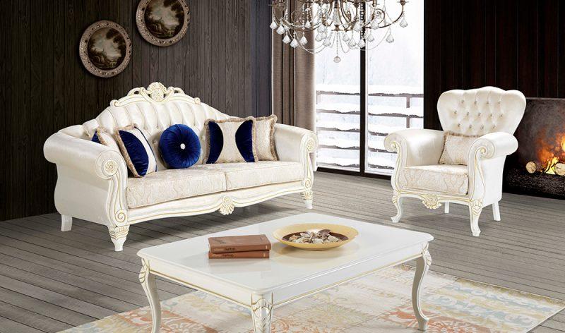 Kursi Sofa Ukir Klasik Melrose