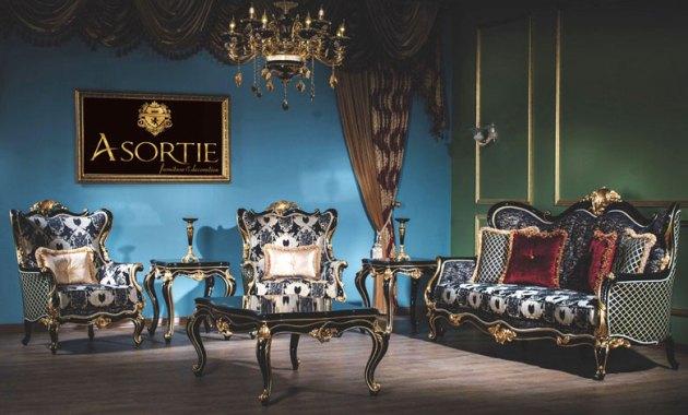 Kursi Sofa Klasik Modern Inci