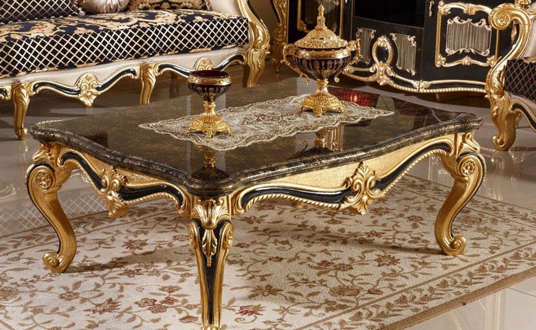Sofa Ruang Tamu Mewah Klasik Bergamo