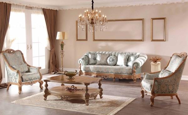 Kursi Sofa Mewah Klasik Lena