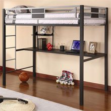 Morrell Workstation Bunk Bed