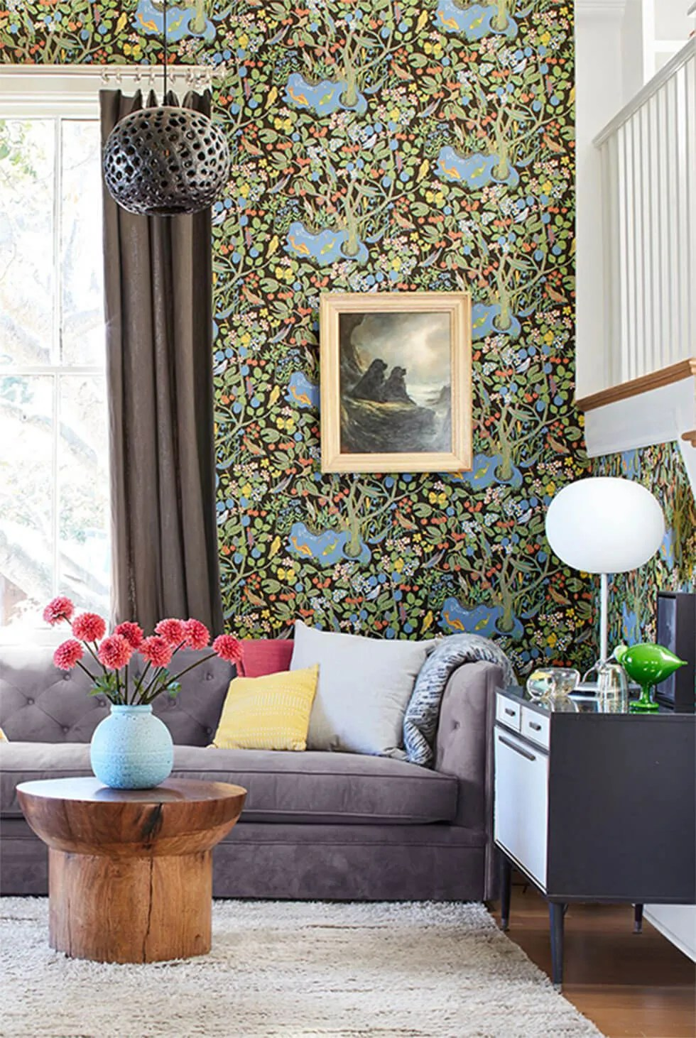 9 Chic Ideas To Style A Feature Wall In The Living Room Furniture Choice