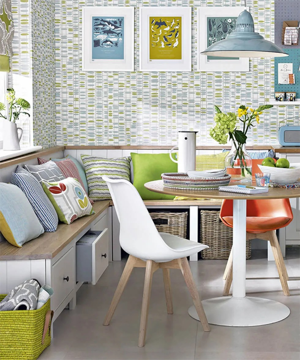 ideas for clever dining room storage