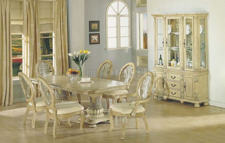 Cleopatra Double Pedestal 7 Piece Rectangle Dining Room