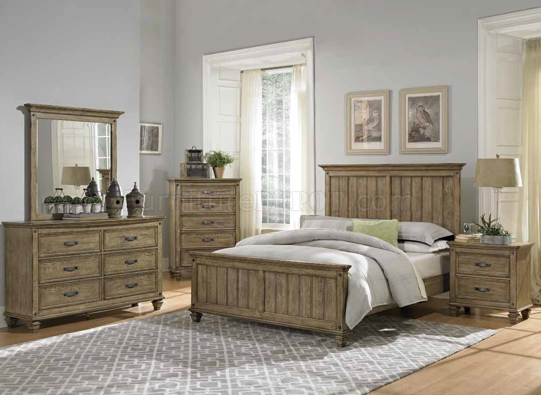 sylvania bedroom 2298 in driftwood by