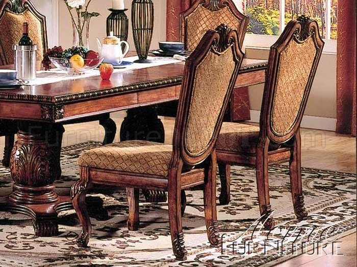 04075 Chateau De Ville Dining Table In Cherry WOptions By