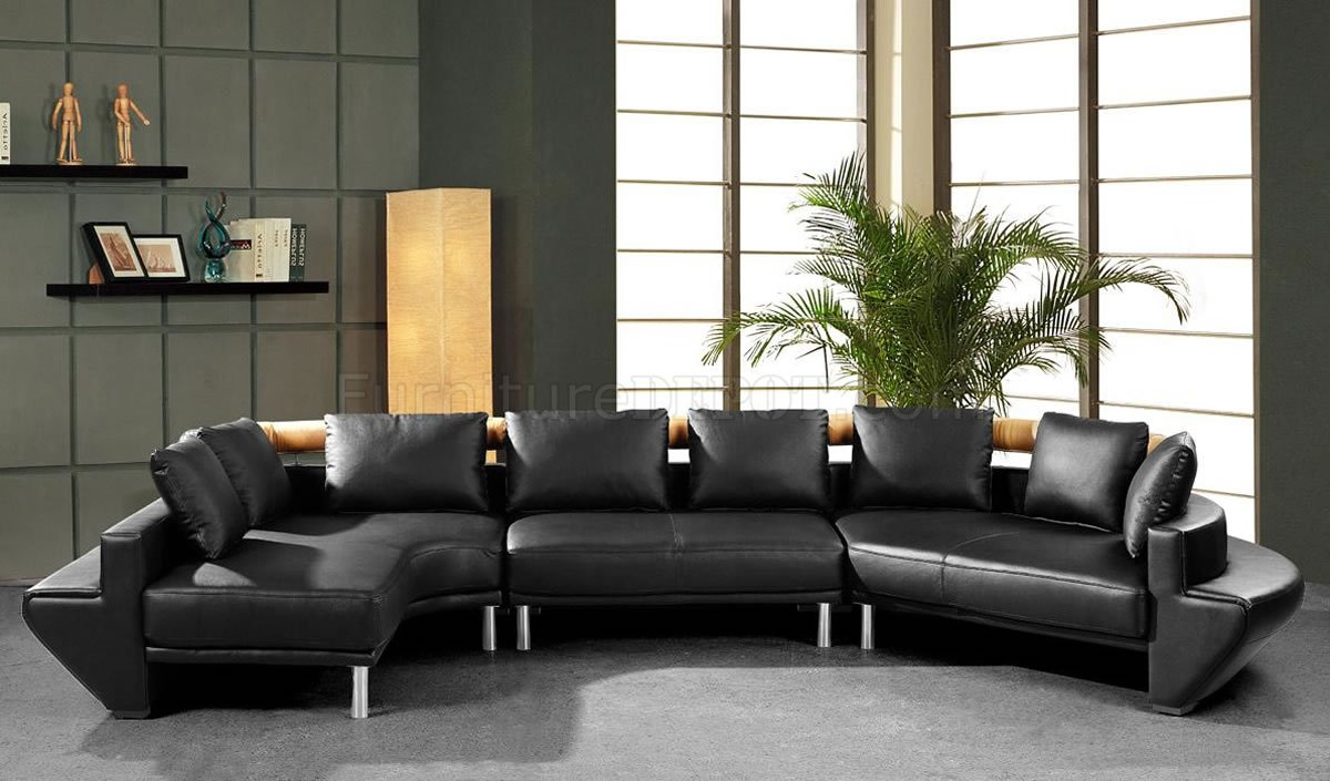 modern full leather sectional sofa mars