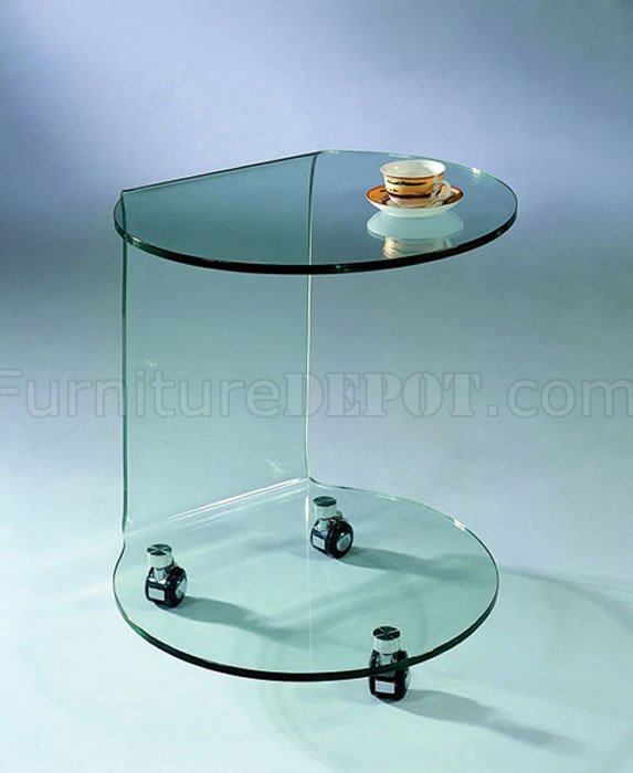 clear glass artistic portable coffee