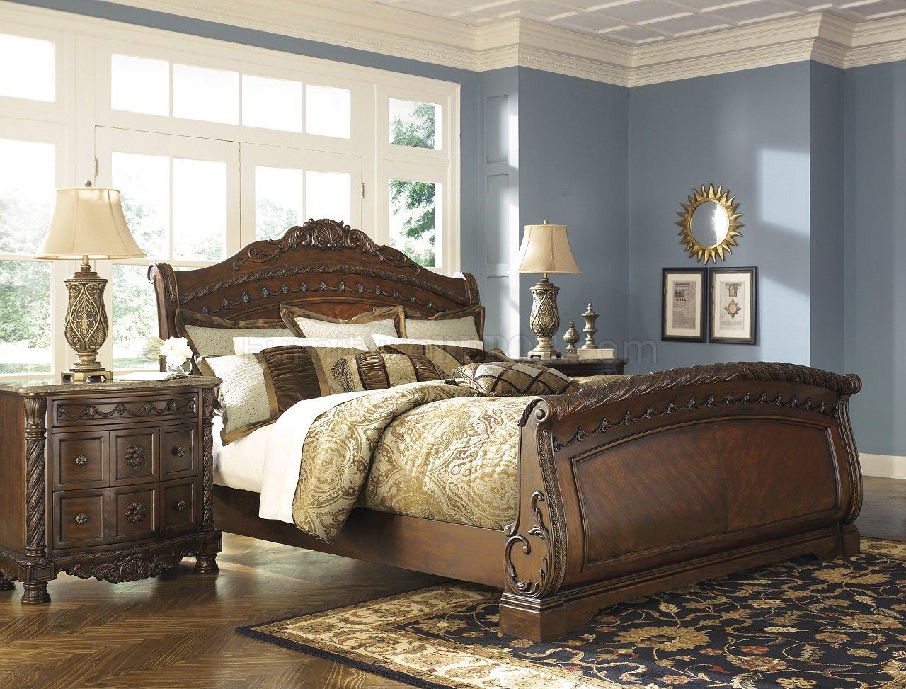 North Shore Bedroom B553 S Dark Brown By Ashley Furniture