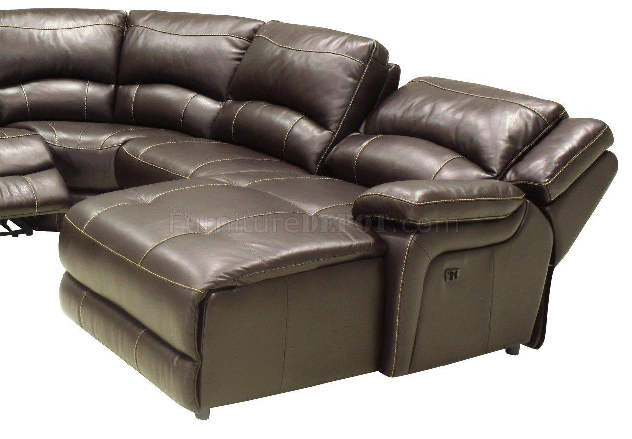 mahogany full leather 6pc modern