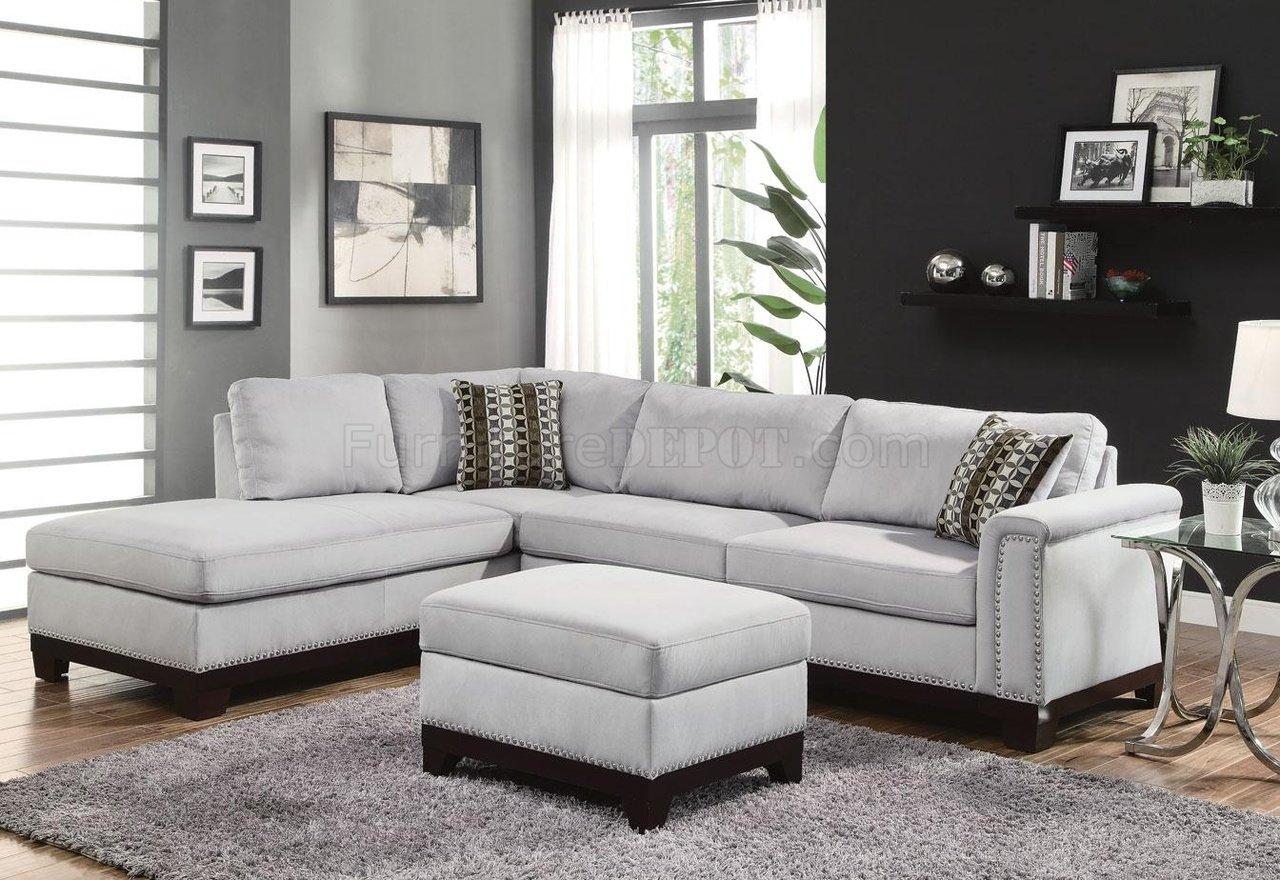 mason sectional sofa 503615 in blue