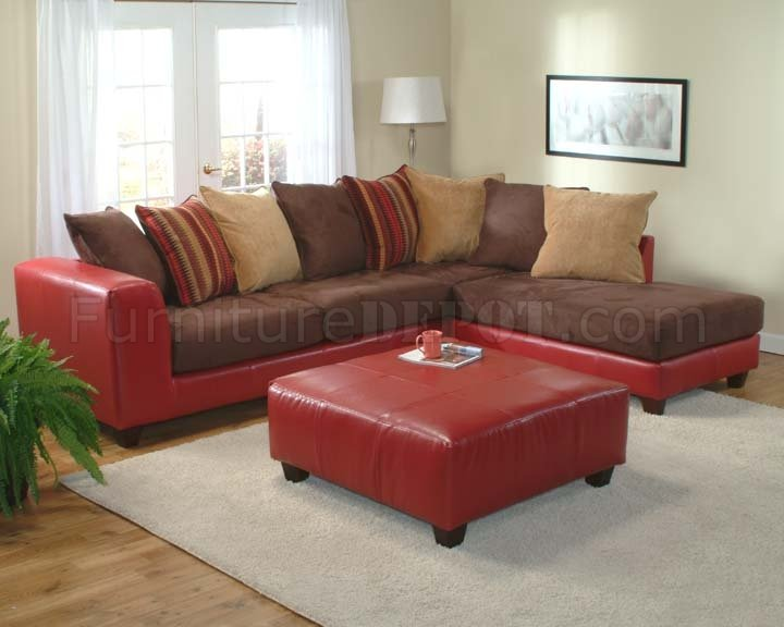multi color modern sectional sofa w