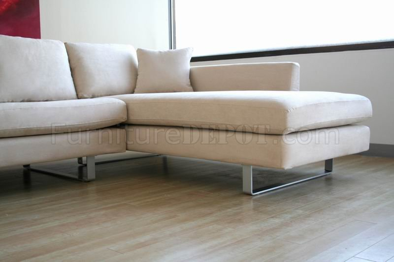 contemporary sectional sofa in off
