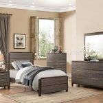 Vestavia Bedroom Set 1936 In Dark Brown By Homelegance