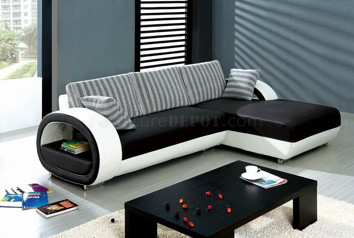 black white leatherette stylish