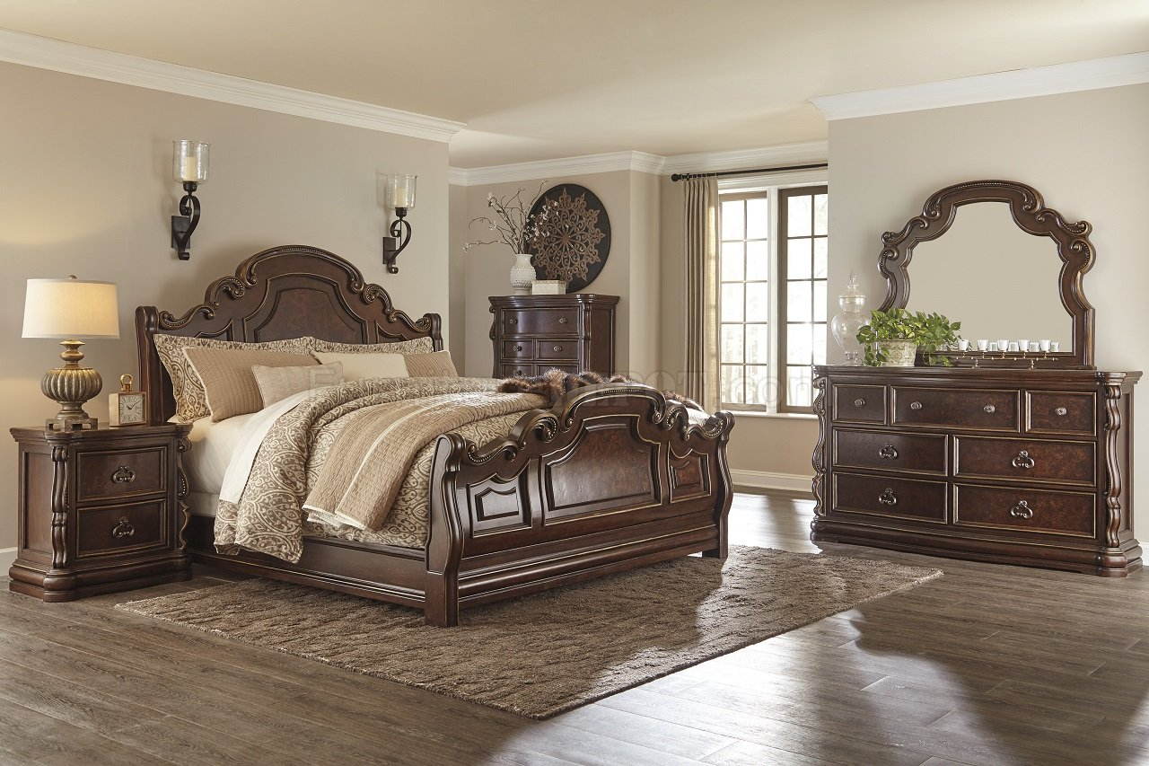 Florentown Bedroom B715 In Brown Finish By Ashley Furniture