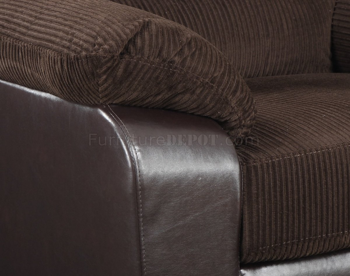 U880018 Sofa Amp Chair In Corduroy Fabric By Global WOptions