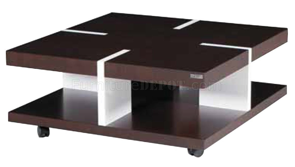 brown white solid wood modern coffee