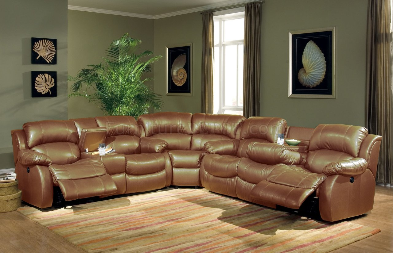 transitional brown bonded leather