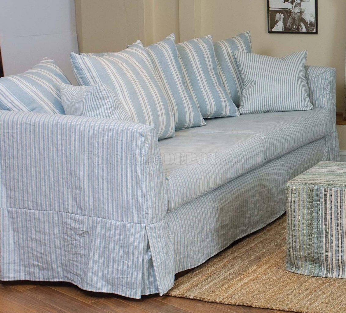 striped slipcovers for sofas Centerfieldbarcom