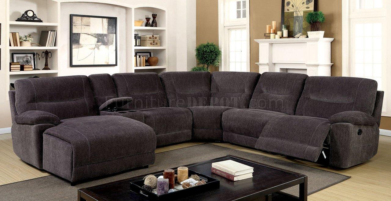 zuben reclining sectional sofa cm6853