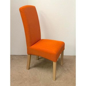 epsom chair orange 1