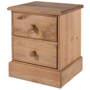 country pine bedside