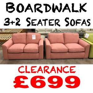 Boardwalk 3+2 - Pink