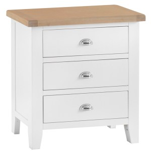 New England 3 Drawer Chest 1