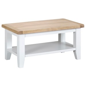 New England Small Coffee Table-white
